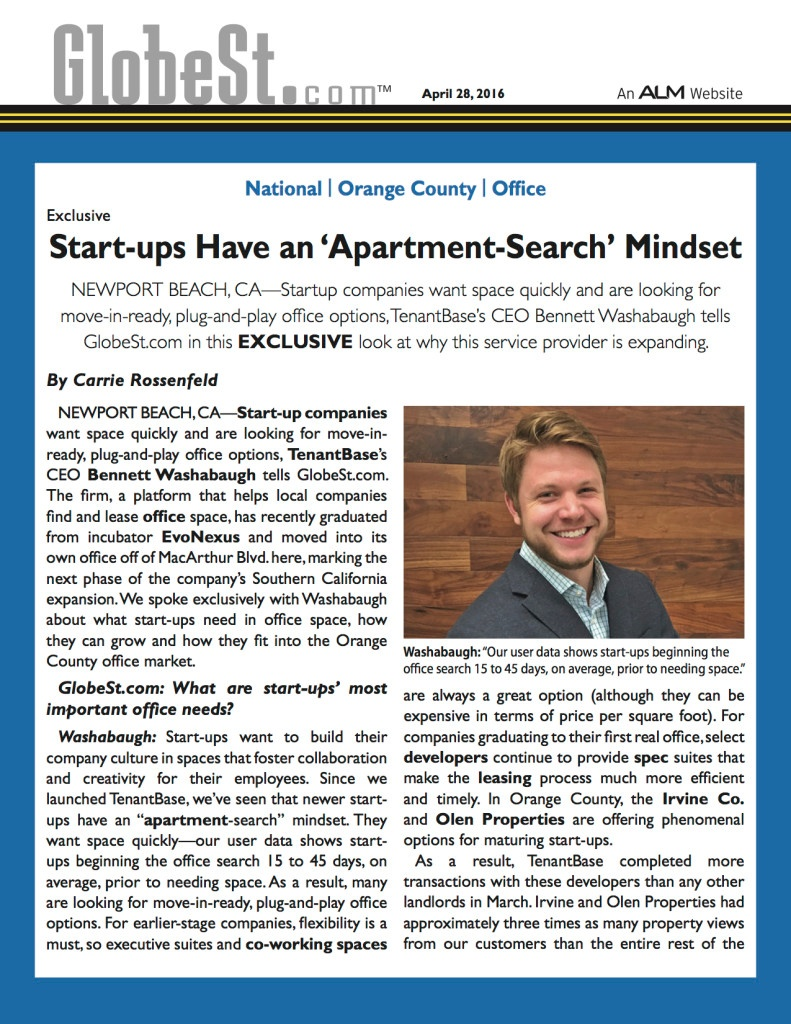 Startups Office Search_Globe St TenantBase Article P1